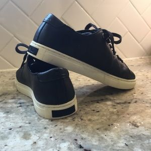 Lauren Ralph Lauren leather tennis
